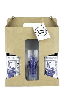 2 Bottles/ 1 Pint Glass Gift Pack