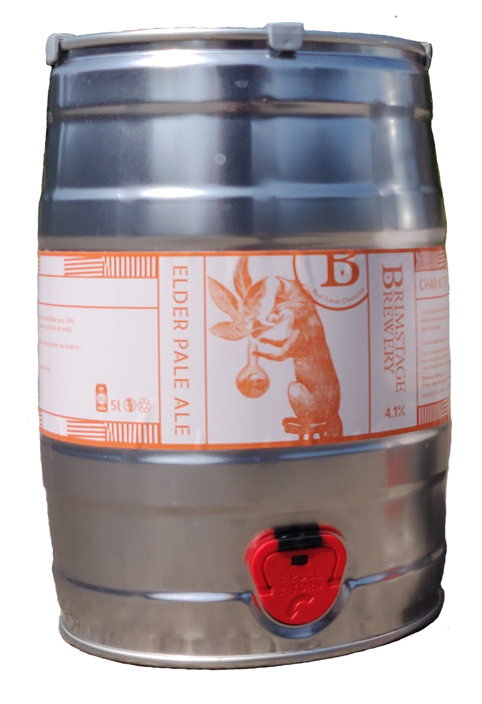 Elder Pale Ale - 5l Mini Cask